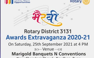 Bhairavi – Annual Award function, Rotary District 3131 Year 20-21