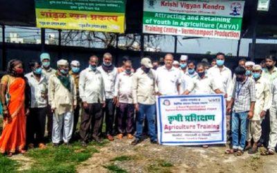 SRI Training for Farmers from Phalode Cluster